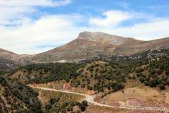 Route espagnole Image libre de droits