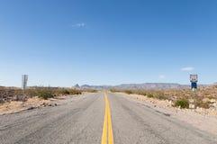 Route 66, estrada da mãe, Califórnia, o Arizona, EUA Imagens de Stock Royalty Free