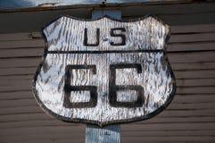Route 66, estrada da mãe, Califórnia, o Arizona, EUA Foto de Stock