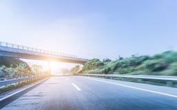 Route et ciel Images libres de droits