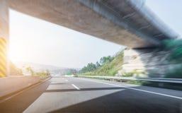 Route et ciel Photographie stock libre de droits