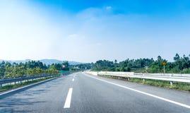 Route et ciel Photo libre de droits