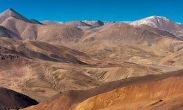 Route et montagne Image stock