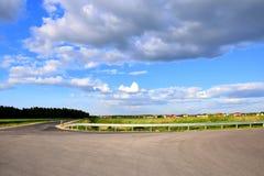 Route et pluie Photo libre de droits
