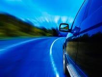 Route et véhicule images stock