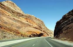 Route Etats-Unis Photos libres de droits