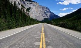 Route express de champs de glace image stock