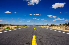 Route 66, the famous USA road, Arizona Royalty Free Stock Image