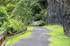 Route fermée Images stock