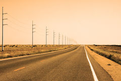 At Route 66 Royalty Free Stock Photo