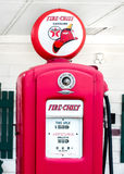 Route 66: Fire Chief Gas Pump, Dwight, IL Royalty Free Stock Photos