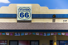 Route 66 Gas Station in Nevada Stock Photography