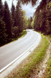 Route goudronnée Images libres de droits