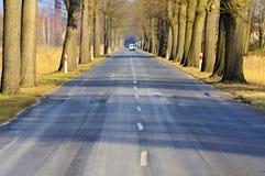 Route goudronnée Photographie stock