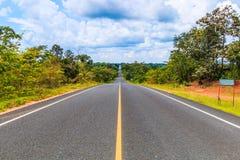 Route goudronnée Photo libre de droits