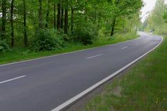 Route goudronnée Photos libres de droits