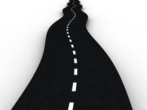 route goudronnée illustration stock