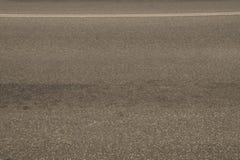 Route goudronnée noire Images stock