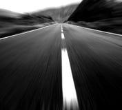 Route grande Photographie stock
