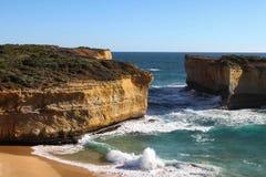 Route grande Australie d'océan photos stock