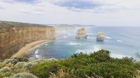 Route grande Australie d'océan Image libre de droits