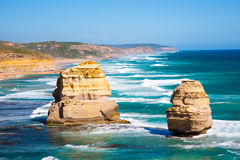 Route grande d'océan Photos libres de droits