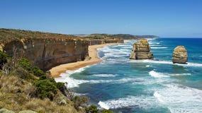 Route grande d'océan, Australie photos libres de droits