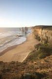 Route grande Melbourne Australie d'océan de 12 apôtres Image libre de droits