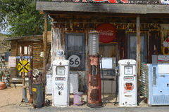 Route 66, Hackberry, old general store Stock Photography