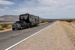 Route 66, het spook achter de legende stock foto