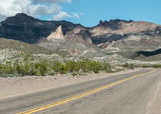 Route 66 histórico no Arizona Fotos de Stock Royalty Free