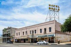 Route 66, Hotel Beale, Kingman, Arizona Royalty Free Stock Image