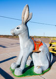 Route 66 : Ici c'est Jack Rabbit, Joseph City, AZ Image stock