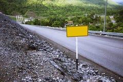 Route II Image libre de droits
