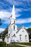 Route 66. Illinois, Route 66, Dwight, the Carpenter Gothic church Royalty Free Stock Images