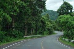 Route incurvée Image libre de droits