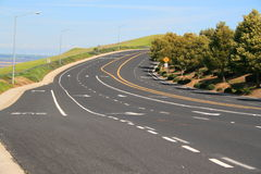 Route infinie image libre de droits
