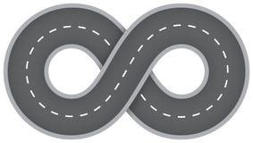 Route infinie illustration libre de droits