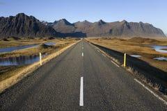 Route islandaise - Islande Photographie stock libre de droits
