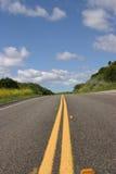 Route isolée Photographie stock libre de droits