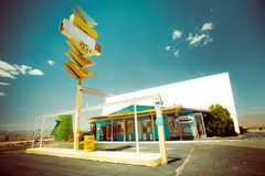 ROUTE 66 KINGMAN AZ Royalty Free Stock Images