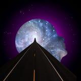 Route à l'esprit universel Image libre de droits