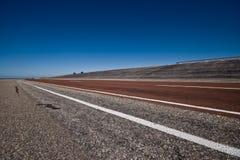 Route large vide Image libre de droits