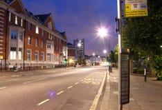 Route Londres de herse Image libre de droits