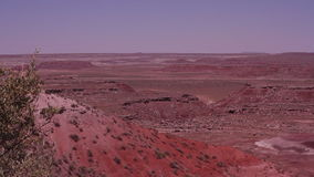 Route 66 målade öknen Arizona arkivfilmer