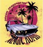 Route magique Images stock
