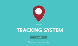 Route Map Navigation Track Places Concept Royalty Free Stock Image