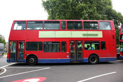 Route Master Bus in the street of London. Route Master Bus is th Stock Photography
