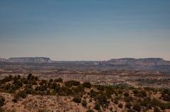 Route menant Phoenix à Grand Canyon photo libre de droits