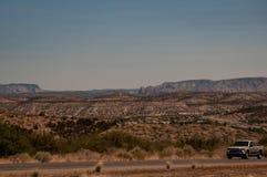 Route menant Phoenix à Grand Canyon photographie stock libre de droits